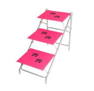 Tubline Escada dobravel Pets BIG N07Para Cães até 40 kilos - Rosa
