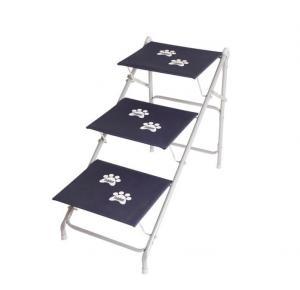 Tubline Escada dobravel Pets BIG N08 Para Cães até 40 kilos - Azul