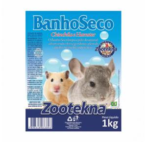 Banho A Seco Roedores Zootekna  1kg