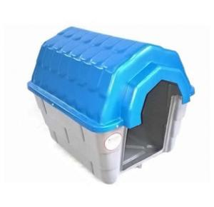 Casa nº 02 Ideal Dog Base Cinza Telhado Azul
