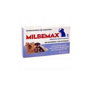 Vermífugo C Cães até 5 Kg com 2 Comprimidos Milbemax