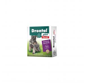 Vermífugo Drontal Plus para Cães de 10kg com 2 Comprimidos Bayer