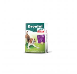 Vermífugo Drontal Plus para Cães de 10kg com 4 Comprimidos Bayer