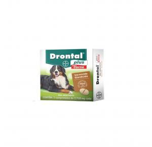 Vermífugo Drontal Plus para Cães de 35kg com 2 Comprimidos Bayer