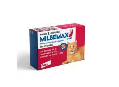 Vermífugo Elanco Milbemax G Gatos Elanco 2 a 8kg