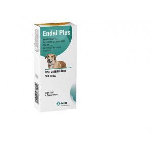 Vermífugo Endal Plus 4 Comprimidos MSD