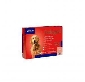 Vermífugo Endogard para Cães até 30 Kg com 2 Comprimidos Virbac