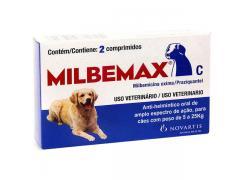 Vermífugo Milbemax C Cães de 5 a 25 Kg (2 Comprimidos)