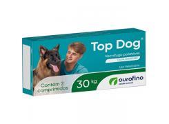 Vermifugo Top Dog  Cães de até 30 Kg  (2 Comprimidos)