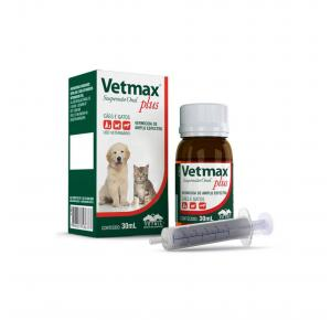 Vermífugo Vetmax Plus Suspensão Oral Vetnil 30ml