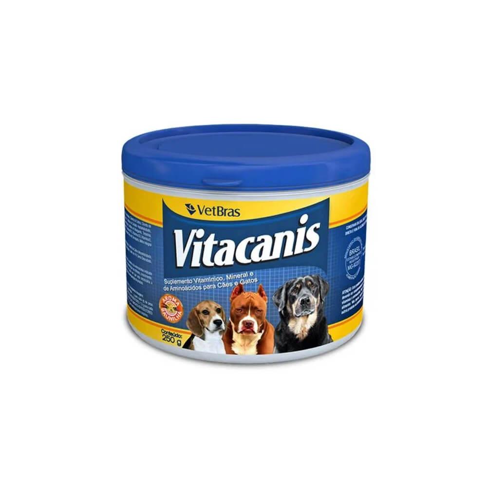 Vitacanis Suplemento Vitamínico para Cães e Gatos 250Gr Vetbras