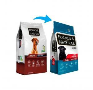 Ração Fórmula Natural para Cães Adultos Raças Médias e Grandes 15kg