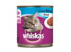 Whiskas Lata Patê para Gatos Adultos Sabor Atum - 290g