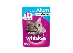 Whiskas Sachê para Gatos Adultos Sabor Cordeiro ao Molho - 85g