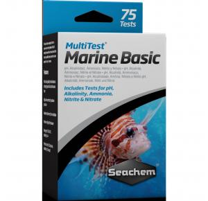 Seachem Multitest Marine Basic 75 testes