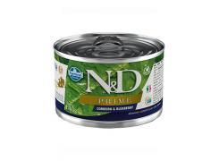 Ração Úmida Lata N&D Prime Cordeiro & Blueberry para Cães Adultos Lata 140g