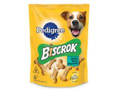 Biscoito Pedigree Biscrok Mini para Cães Adultos de Raças Pequenas 1Kg