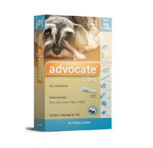 Advocate Antipulgas  Cães de 4kg a 10 kg (1pipeta)