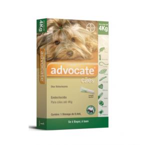 Advocate Antipulgas  Cães de até 4kg  (1 pipeta)