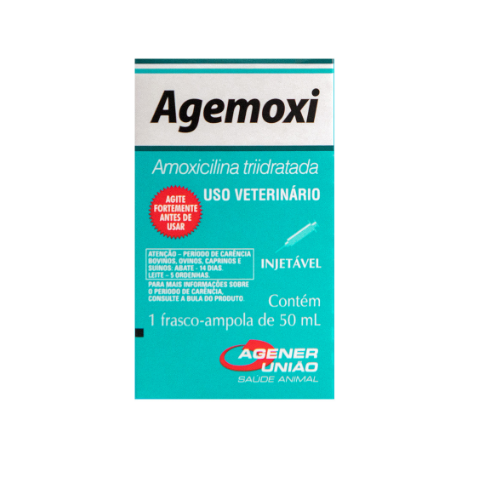 Agemoxi LA Antimicrobiano 50mL