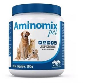 Complexo Vitamínico Aminomix Pet 500gr