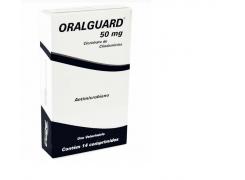 Antibiótico Dentário Oralguard 50mg -  14 comprimidos