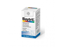 Baytril 5% 10ml injetável - Bayer