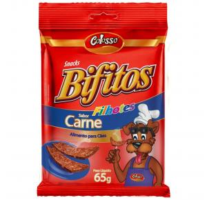 Bifitos para Cachorro Colosso Carne Filhote 65gr
