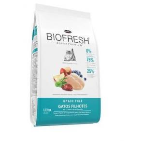 Ração Biofresh para Gatos Filhotes 1.5kg