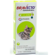 Bravecto Transdermal Antipulgas E Carrapatos para gatos 1.2 a 2.8 kg