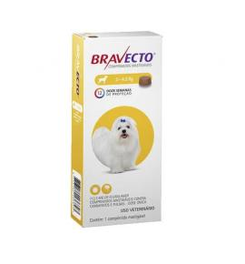 Bravecto  Antipulgas E Carrapatos  para Cães de 2 a 4.5 kg
