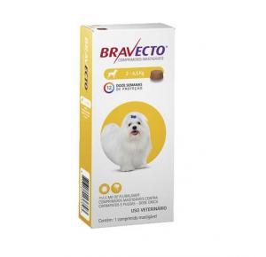 Bravecto  Antipulgas Oral para Cães de 2 a 4.5 kg