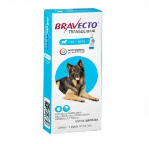 Bravecto Transdermal Antipulgas Cães de 20 a 40kg