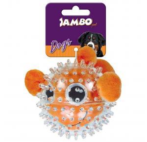 Brinquedo  para cães Pelucia Spiky Ball Peixe - Jambo