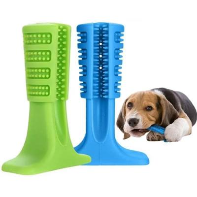 Brinquedo Mordedor Escova  Pequena Mais Dog para Cães Cores Sortidas