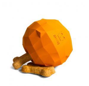 Brinquedo Super Fruit Laranja Zee Dog