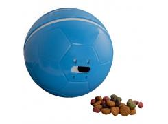 Brinquedo Comedouro Crazy Ball Azul Amicus