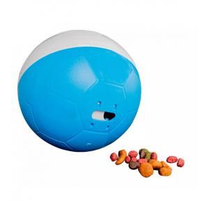 Brinquedo interativo Amicus Crazy Ball para Cães Azul e Branco
