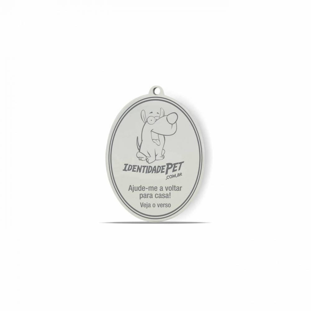 Medalha Furacão Pet para Identidade do seu Pet