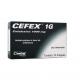 Cefex 1000mg antimicrobiano com 10 Drágeas
