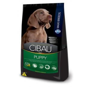 Cibau Maxi Breeds para Cães Filhotes de Raças Grandes Frango 25kg