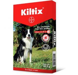 Coleira Bayer Antipulgas e Carrapatos Kiltix para Cães M 48 cm