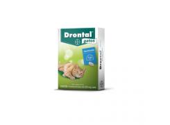 Drontal plus para Cães de 35kg com 2 comprimidos