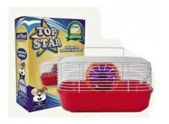 Gaiola Hamster Top Star Cores Jel Plast