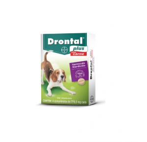 Vermífugo Drontal para Cães de 10kg (4comprimidos)