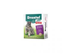 Vermífugo Drontal plus para Cães de 10kg (2comprimidos)