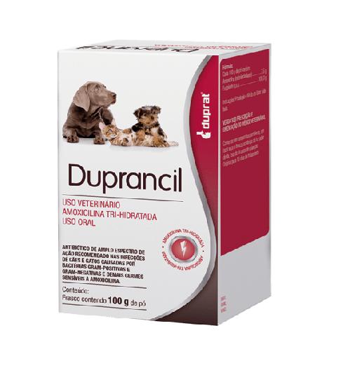 Duprancil Duprat Amoxicilina Oral em Pó - 100 g