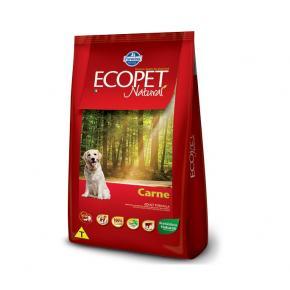 Ecopet Ração para Cães Adultos Sabor Carne 15kg