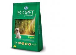 Ração Ecopet Light para Cães Adultos Raças Médias e Grandes - 15kg