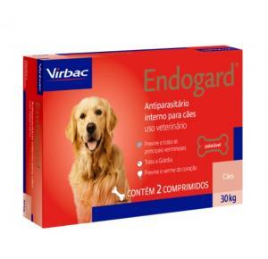 Vermífugo Endogard para Cães até 30 Kg (2Comprimidos)